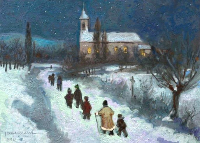 Morning Of Advent is a painting by Tancau Emanuel